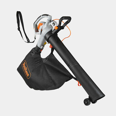 Powerful Electric Leaf Blower Vacuum Garden Hoover Sucker Collection Bag 35L