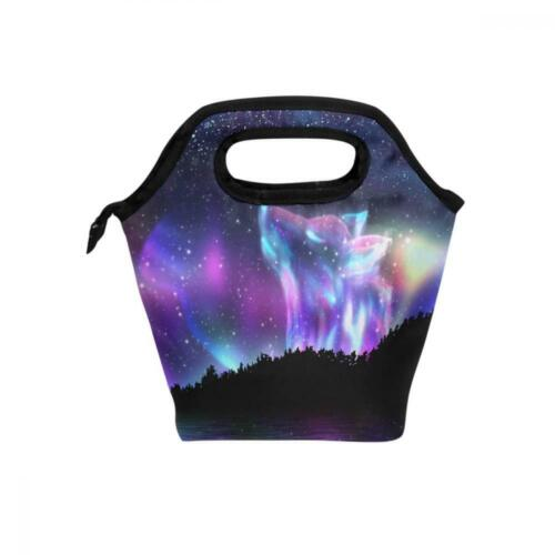 wolf lunch box bag tote insulated kids