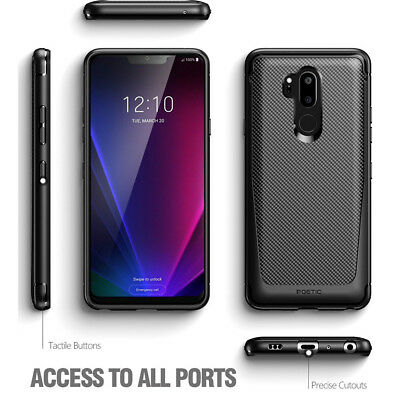 Cases 5 Lot Black Case - [5pcs/ lot] For LG G7 ThinQ | Poetic lightweight Slim Fit TPU Case Cover Black