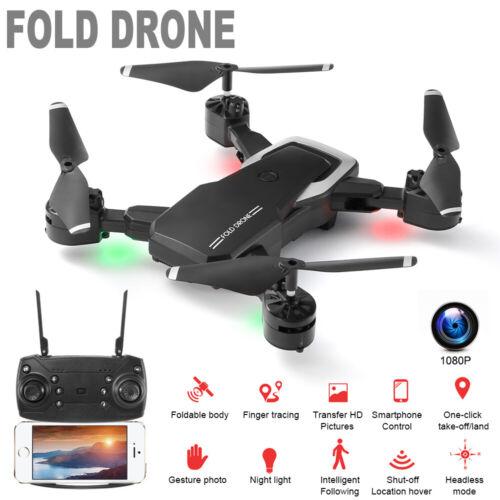 Mini Quadrocopter APP FPV RC Drohne mit 1080P HD WIFI Kamera faltbare Spielzeug