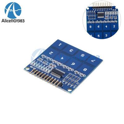 Arduino Ttp226 8 Channel Digital Capacitive Switch Touch Sensor Module