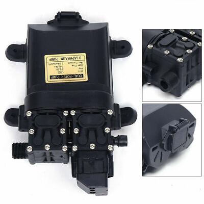 123psi Electric Diaphragm Water Pump Self Priming High Pressure Dc12v 9lmin Top