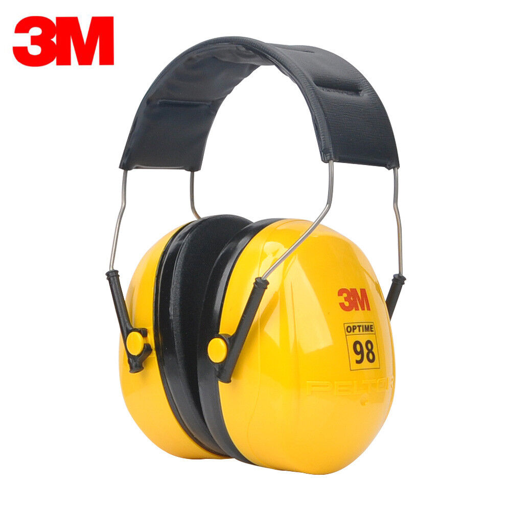 3M H9A Peltor Optime 98 Over-the-Head Earmuffs * Free US Shipping * Business & Industrial