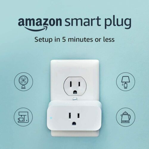Amazon Smart Plug, Setup in as little as 5 minutes, works with Alexa