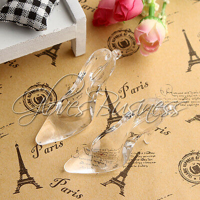 1PC 68x22mm Crystal Cinderella High heel Shoe Pendant For Bubblegum Kid Necklace