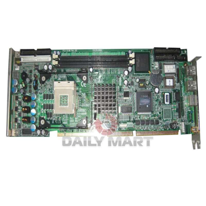 Used & Tested ADVNTECH PCA-6186VE Control Board