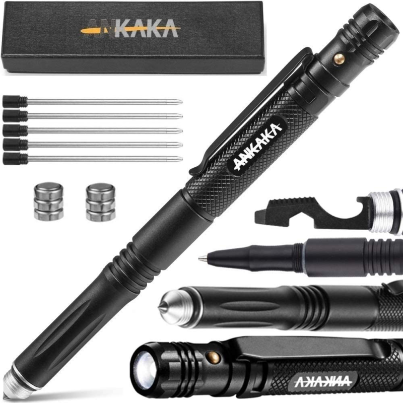 The Most Loaded 6-in-1 Tactical Pen: Solves Other Brands' We