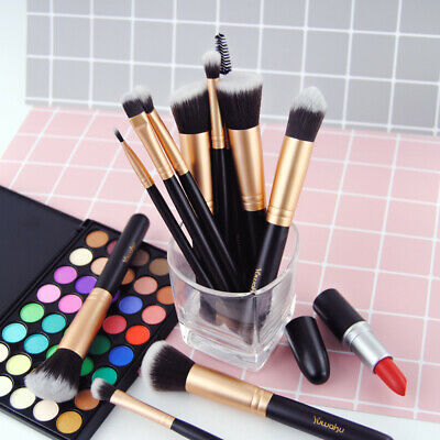 14Pcs Premium Makeup Brushes Set Best Foundation Concealer Eyebrow Brush