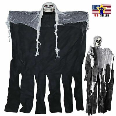 Hanging Skeleton Spider Ghost Props Skull Haunted house Reapers Halloween Party