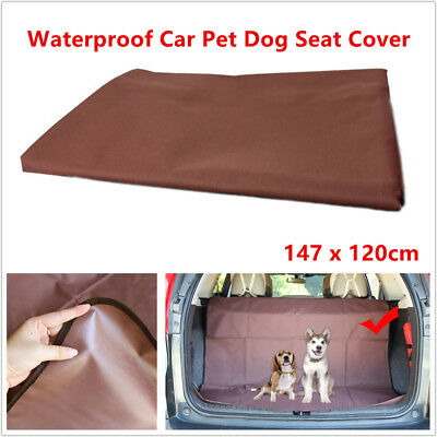 Pet Dog Car Rear Boot Seat Cover SUV/Trunk Protector Liner Mat Oxford Waterproof