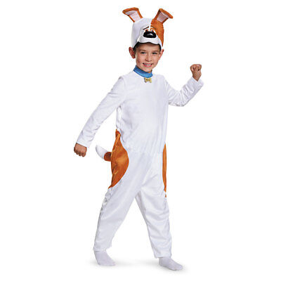 Boys Secret Life of Pets Max Dog Costume