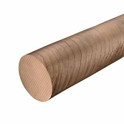 C954 Aluminum Bronze Round Rod 0.625 58 Inch X 12 Inches