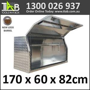 Aluminium Side Full Opening Toolbox Truck Ute Trailer Box 1768FD Melbourne CBD Melbourne City Preview