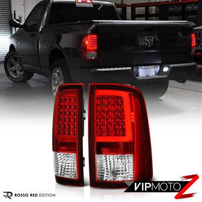 "[Factory RED] 2009-2018 Dodge RAM 1500 2500 3500 ""NEON TUBE"" LED Tail Lights SET"