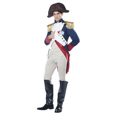 Mens French Emperor Napoleon Halloween Costume - French Men Costume
