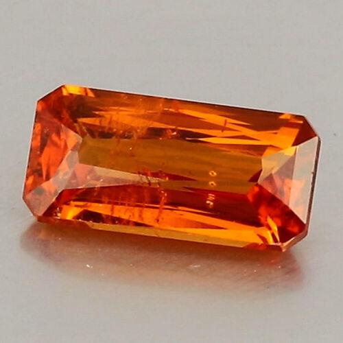 Video_1.29cts_Natural Spessartite Garnet_Nigeria_Vivid Madarin Orange Hue_GM1001
