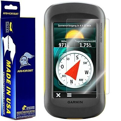 ArmorSuit MilitaryShield - Garmin Montana GPS Screen Protector Brand NEW!!