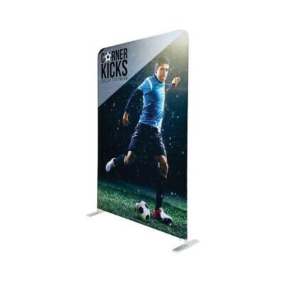 Tsj Graphic Tension Fabric Banner Trade Show Display - 5 Double Sided Divider