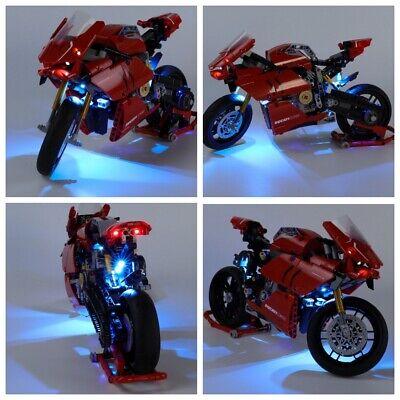 Led Light Kit For 42107 Technic Motorcycle Ducati Panigale V4 R Building Blocks
