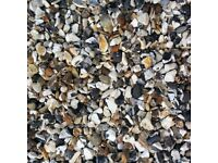 Moon Stone Gravel - approx 200kg. (Moonstone)