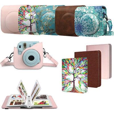 For Fujifilm Instax Mini 9/8/8+ Camera Bag Case Cover & 104 Pockets Photo Album