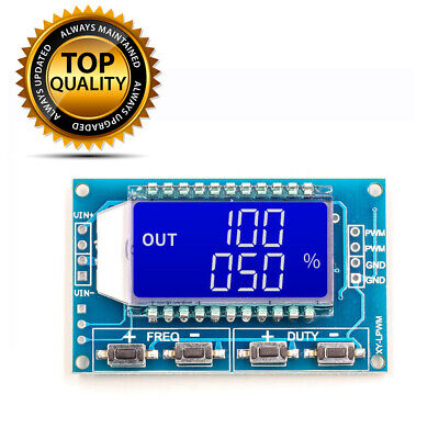 Signal Generator Pwm Pulse Frequency Duty Cycle Adjustable Module Lcd Display