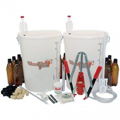 Home Brew Beer And Wine Making Starter Equipment Pack Multi Purpose Kit