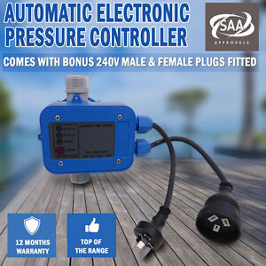 WATER PUMP CONTROLLER AUTOMATIC PRESSURE CONTROL AUTO SWITCH ELECTRONIC TANK