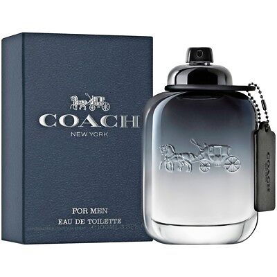 Coach New York 3 4 3 3 Oz 100 Ml Coach Men Cologne Edt Spray Brand New In Box