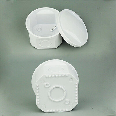 Round Plastic Waterproof Electrical Project Junction Enclosure Box Case 5050mm