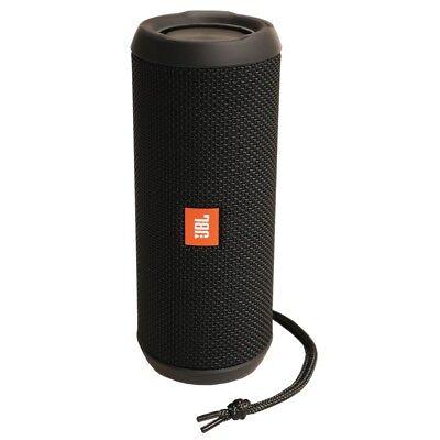 JBL Flip 3 black tragbarer Bluetooth Lautsprecher Soundbox spritzwasserfest WOW!