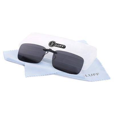 Polarized Clip on Sunglasses for Prescription/Myopia Eyeglasses (Polarized Prescription Eyeglasses)