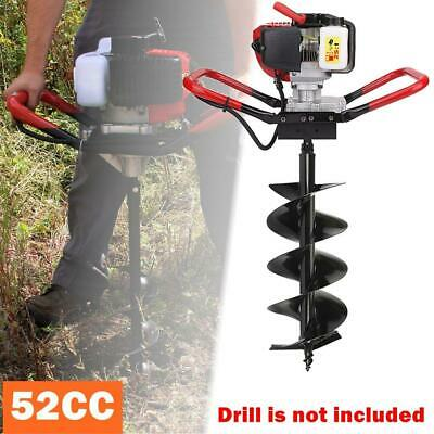 52cc 2-stroke Gasoline One Man Earth Ground Auger Borer Post Hole Digger Machine
