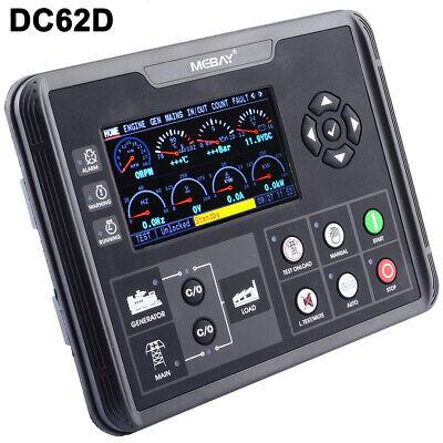 Dc62d Generator Set Controller For Dieselgas Genset Parameters Monitoring