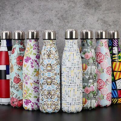 Stainless Steel Vacuum Insulated Water Bottle Flask Thermal Sports Chilly (Thermal Flask)