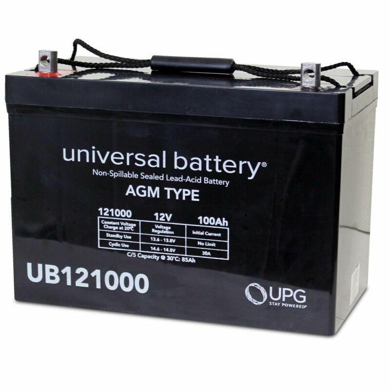 UPG UB121000 12V 100AH AGM SLA Battery for RENOGY PV Solar Panels