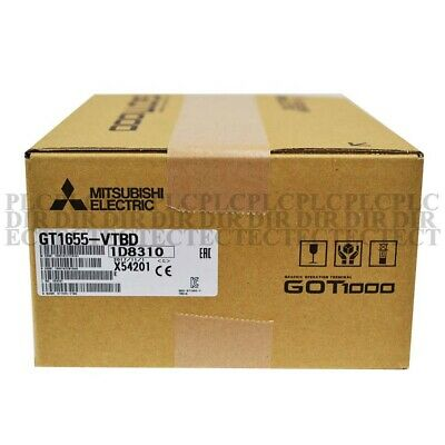 New Mitsubishi Gt1655-vtbd Hmi Touch Screen