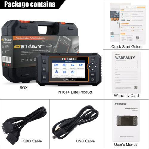 Automotive Scanner OBD2 Diagnostic Tool Engine AT ABS SRS EPB Oil Reset Auto VIN