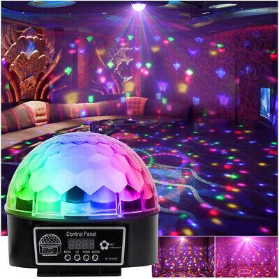 LED Bola de Discoteca Efecto Luz RGB Dj Automático Navidad Fiesta Barpubs...