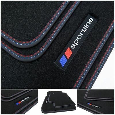 Autoteppiche Fußmatten schwarz BMW E87 1er  5 Türig ab 2004
