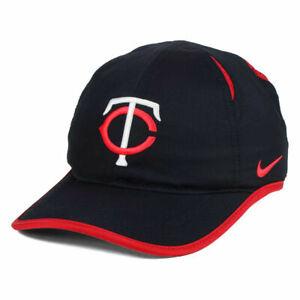 31b86f3df24fe Minnesota Twins MLB Featherlight Dri-Fit Baseball Cap Hat Adjustable Unisex  TC