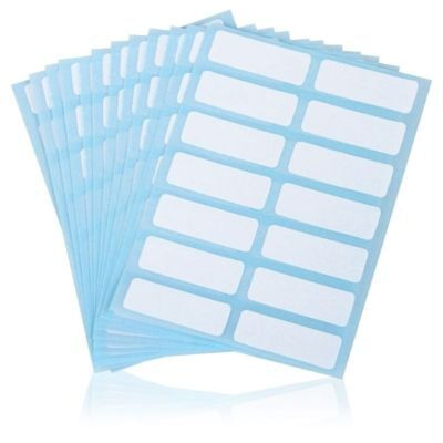 Self Adhesive Name Stickers Price Sticker Name Number Tags Blank Note Labels