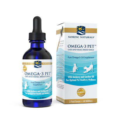 Nordic Naturals Omega 3 Pet   Omega 3S Epa   Dha Fish Oil For Small Dogs   Cats