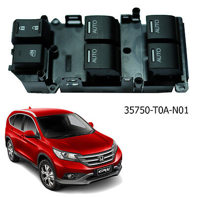 Genuine OEM Auto Electric Window Lifter Switch HONDA CR-V 2012-15 35750-TOA-N01