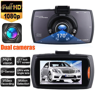 1080P Hd Car Dash Dvr Vehicle Camera Video Recorder Cam Night Vision G Sensor