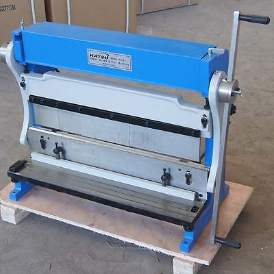 165181 3-In-1 Manual Sheet Metal Shear Brake Roller Bending Machine 610mm