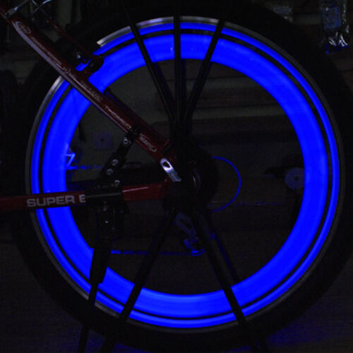 AGPtek 6 PCS Multi-color Bike Light Bicycle Cycling Spoke Wi