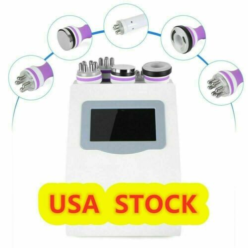 5in1 Ultrasonic 40K Cavitation Radio Frequency RF Vacuum Slimming Machine USA