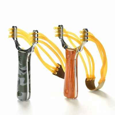 Slingshot High Velocity Powerful Catapult Hunt Sling Shot Outdoor NEW Survival