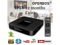 Openbox vx android 7.1 set top box 12 months platinum gift warranty